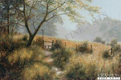 English Landscape Art Print  The Footpath by David Dipnall. sold out rare