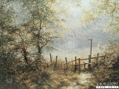 English Landscape Art Print  Early July by David Dipnall.sold out rare