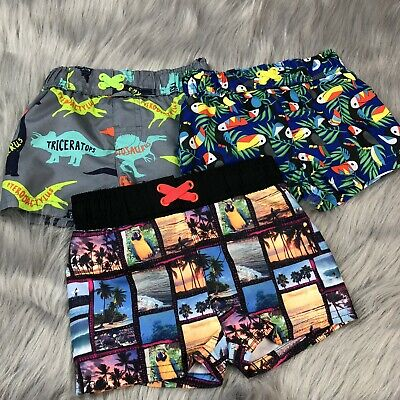0cdda395e8 CAT JACK BABY Boy Swim Shorts Trunk Surf 6 9 Months NWT Teal Summer ...