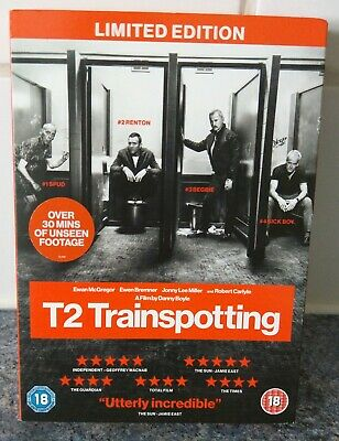 T2 Trainspotting (2017) DVD Limited Edition