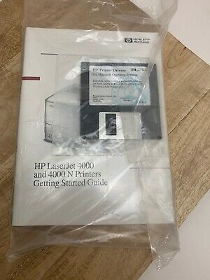 Service Manual for HP Hewlett Packard LaserJet 4000 N Printer Book & Disk (G2)