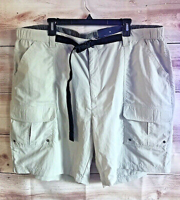 NWT Croft&Barrow Mens Big & Tall Light Weight Cargo Shorts Hiking Active Size 46