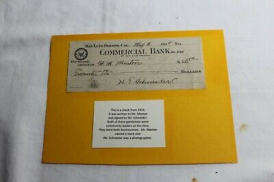 Morro Bay History.  Check from 1914!!!  Wow