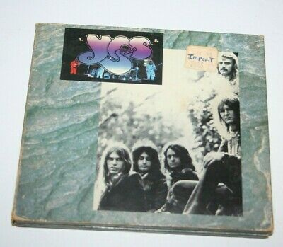 Yes live 1975 double CD set Import Extremely Rare! Anderson Squire Howe Moraz