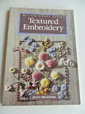 Textured Embroidery - Soft Cover Book
