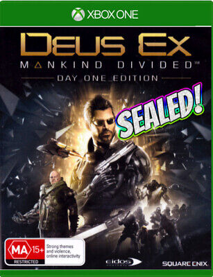 Xbox One Game ✨ DEUS EX: MANKIND DIVIDED Day One Edition  ✨Action / Stealth RPG