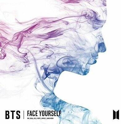 USED CD BTS FACE YOURSELF Normal Edition , no event ticket
