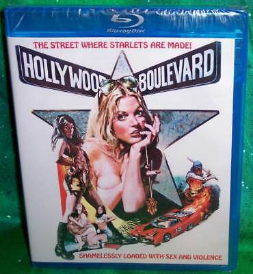 New Rare Oop Scorpion Releasing Hollywood Boulevard Comedy Movie Blu Ray 1976