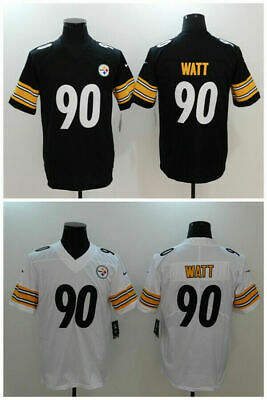 low cost 1ced3 04a09 TJ WATT PITTSBURGH Steelers #90 jersey all stitched Brand ...