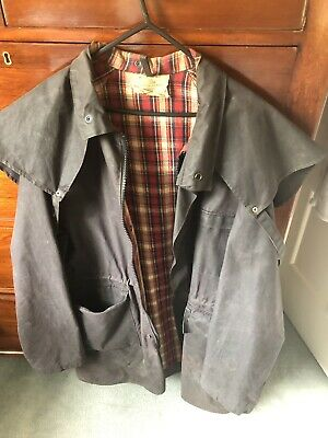 Mens XL OILSKIN WEATHERPROOF COAT . XL.Aussie Made In Melbourne