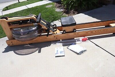 NEW NEVER USED - WaterRower Natural Rowing Machine with S4 Monitor - Ash  Wood