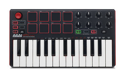 AKAI MPK Mini mkII Keyboard Synthesizer 100% Tested USA Seller FREE SHIPPING!