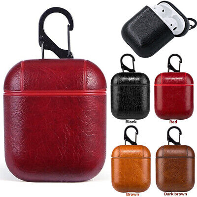 For AirPods Apple Air Pod Case Protective Genuine Leather Holder Bag Accessories