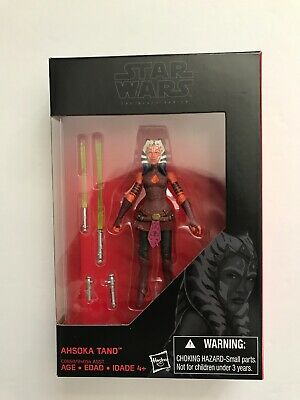 "HASBRO STAR WARS THE BLACK SERIES (AHSOKA TANO) 3.75"" Action Figure New!"