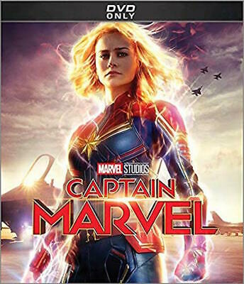 Captain Marvel Dvd - Single Disc Edition - New Unopened - Brie Larson