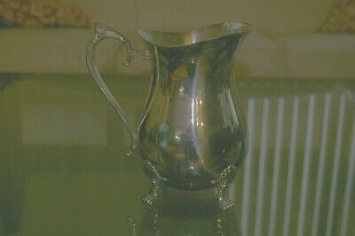 Wedding gift silver pitcher from 40's or 50's
