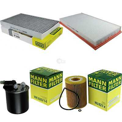 Mann-Filter Set Mercedes-Benz Viano W639 CDI 3.0 Vito /