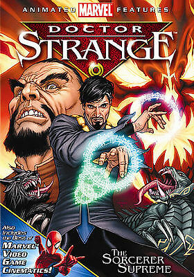 Doctor Strange (DVD, 2007) The Animated Movie - A Marvel Comics Classic