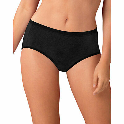 3e86ca05ed3e Hanes Cotton Stretch Women's Low Rise Briefs with ComfortSoft Waistband  6-Pac.