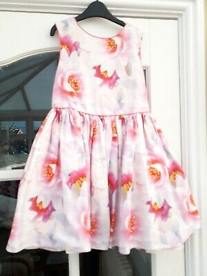 e672aa5da BAKER BY TED Baker - Girls' light pink floral print dress Size Age 5 ...