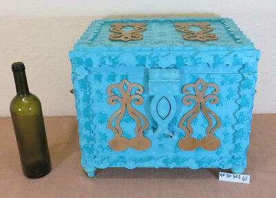 Box of Wooden Collectibles Vintage Box Jewelry Trunk Bauletto Gf