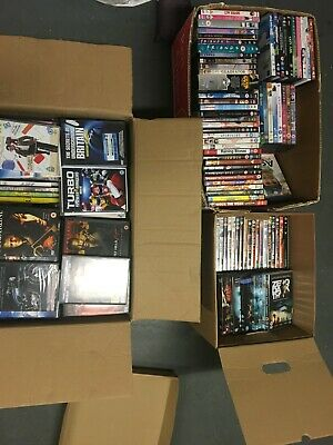 Bulk used original DVDs in box's of 100 - Car Boot?