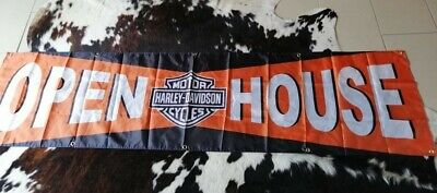 Harley-Davidson  Bar & Shield Logo Banner Open House