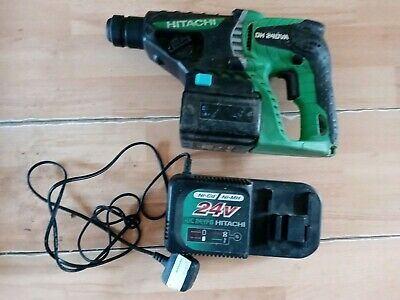 Hitachi Dh 24Dva 3 Mode Sds + Hammer Drill 24V With Charger