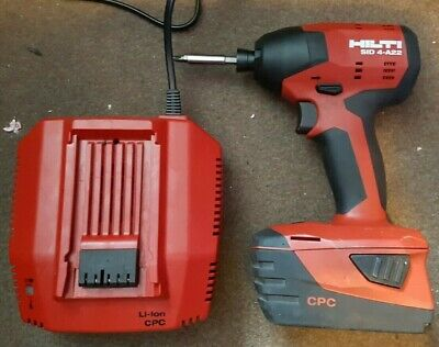 Hilti  Sid4-a22 With 5.2aH battery and charger