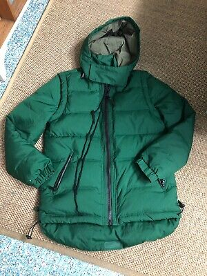CLAUDE MAUS- Mens /unisex Dark Green Down Puffer Jacket & Vest - Size S ( Mens )