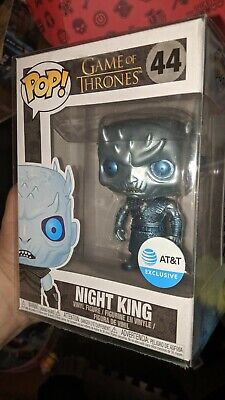 Funko Pop! Game of Thrones Metallic Night King #44 AT&T Exclusive w/protector