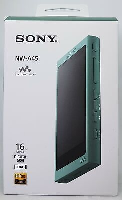 Sony NW-A45 High Resolution Walkman MP3 Reproductor 16GB Verde - Nuevo y Emb.