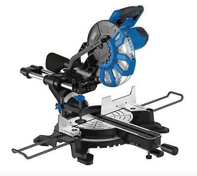 Draper 250MM SLIDING COMPOUND MITRE SAW WITH LASER CUTTING GUIDE (2000W)