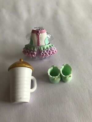 LOL Surprise Confetti Pop UNICORN Outfit, Shoes and Bottle Series 3 NEW