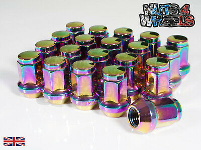 20 x Petrol Hex Wheel Nuts M12x1.5 Fits Ariel Atom Lotus Elise