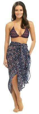 Octave Ladies Tropical Print Sarong Wrap Beach Cover Up