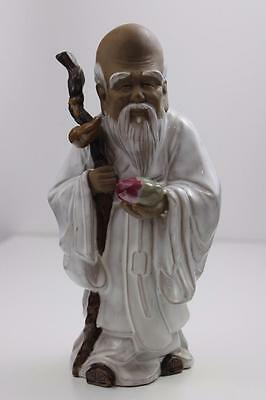 Large Chinese Ornament Immortal Old man From Warjian ,Guangdong , China 25cm