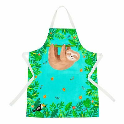 BNIP Sass & Belle Sloth and Friends Kid's Apron/Overall for Baking, Arts, Crafts
