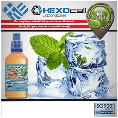 Liquid  Juice Natura - COOL MINT  100ml nicotine 18 mg made in EU