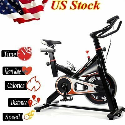 Pro Fitness Stationary Exercise Bike Cardio Indoor Cycling Bicycle Trainer BT