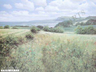 English Landscape Art Print I See the Sea by David Dipnall..sold out rare