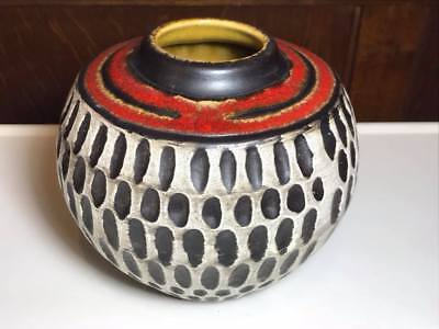 Mid Century Jasba West German Pottery Vase 191/12