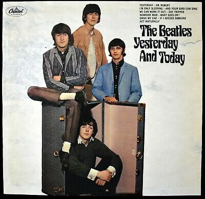1966 Beatles Yesterday & Today Album Slick Pasted Over Butcher Cover