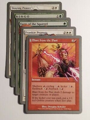 Blast from the Past NM MTG Unhinged UH Magic