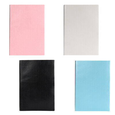 4Pcs A5 Business Writing Notebooks Journal PU Leather Bound Daily Notepad Diary