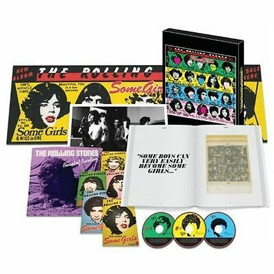 """Some Girls [Super Deluxe Edition 2CD/DVD/7""""] by The Rolling Stones (CD NEW)"""
