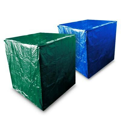 Blue Green Pallet Cover Poly Tarp 4x4x5' Water Resistant 5 Mil Polyethylene