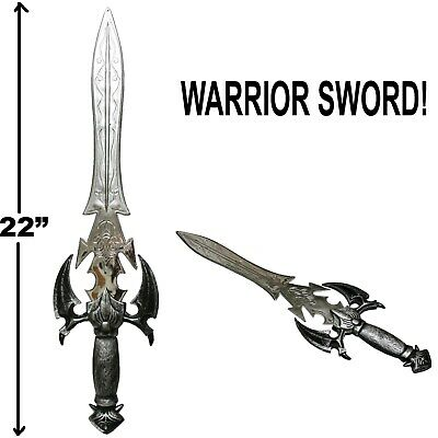 Dragon Medieval Knight Templar Sword Crusader Cosplay Costume Accessory Toy 32""