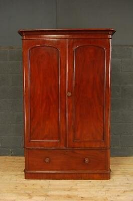 Antique 19th Century Victorian Mahogany Wardrobe