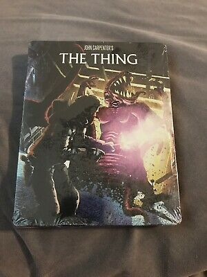The Thing Steelbook Blu-ray Limited Edition Scream Factory Brand New Sealed Rare